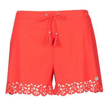 Oblačila Ženske Kratke hlače & Bermuda Banana Moon MEOW Rdeča