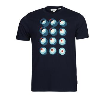 Oblačila Moški Majice s kratkimi rokavi Ben Sherman TARGET CONSTRUCTION Modra
