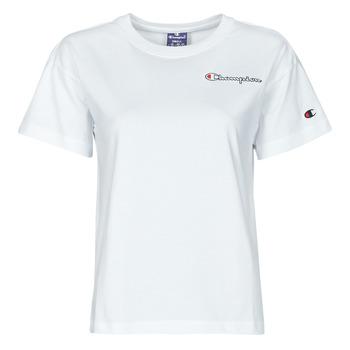 Oblačila Ženske Majice s kratkimi rokavi Champion 113090 Bela