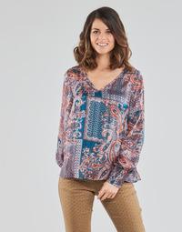 Oblačila Ženske Topi & Bluze Cream SHEENA BLOUSE Modra
