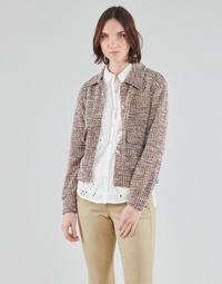Oblačila Ženske Jakne & Blazerji Cream CHANA JACKET Večbarvna