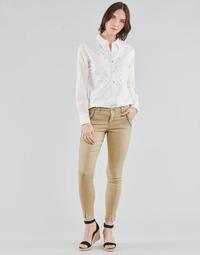 Oblačila Ženske Hlače s 5 žepi Cream HOLLY TWILL PANT Bež