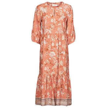 Oblačila Ženske Dolge obleke Cream JOHUI DRESS Oranžna