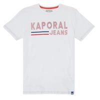 Oblačila Dečki Majice s kratkimi rokavi Kaporal EZIO Bela