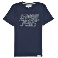 Oblačila Dečki Majice s kratkimi rokavi Kaporal MAIL Modra
