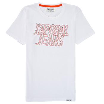 Oblačila Dečki Majice s kratkimi rokavi Kaporal MAIL Bela