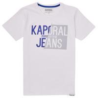 Oblačila Dečki Majice s kratkimi rokavi Kaporal MAYO Bela