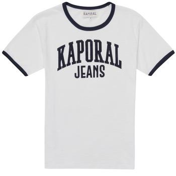 Oblačila Dečki Majice s kratkimi rokavi Kaporal METRO Bela