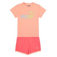 Oblačila Deklice Otroški kompleti Puma BB SET ABRI Rožnata