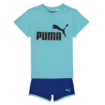 Oblačila Dečki Otroški kompleti Puma BB SET ANGEL Modra