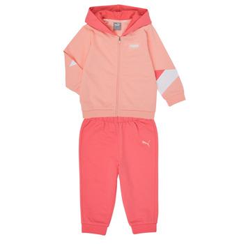 Oblačila Deklice Otroški kompleti Puma BB MINICATS REBEL Rožnata / Siva