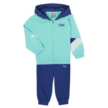 Oblačila Dečki Otroški kompleti Puma BB MINICATS REBEL Modra