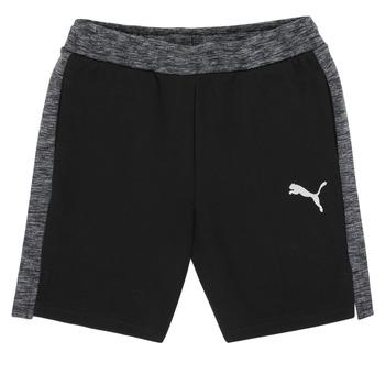 Oblačila Dečki Kratke hlače & Bermuda Puma EVOSTRIPE SHORTS Črna