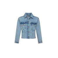Oblačila Deklice Jeans jakne Pepe jeans NICOLE JACKET Modra