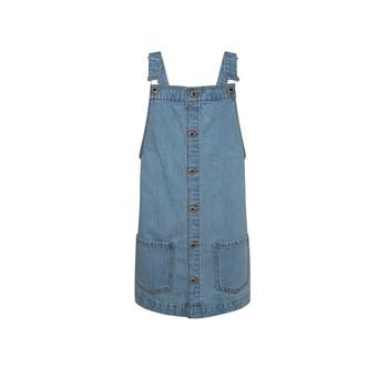 Oblačila Deklice Kratke obleke Pepe jeans CHICAGO PINAFORE Modra