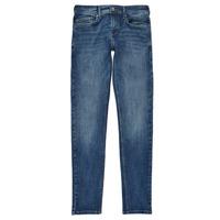Oblačila Dečki Jeans skinny Pepe jeans FINLY Modra