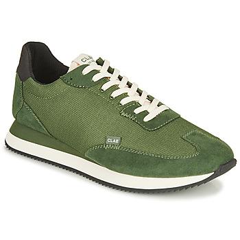 Čevlji  Moški Nizke superge Clae RUNYON Zelena