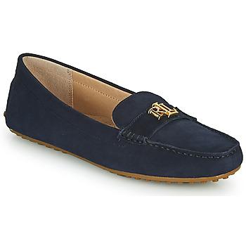 Čevlji  Ženske Mokasini Lauren Ralph Lauren BARNSBURY FLATS CASUAL Modra