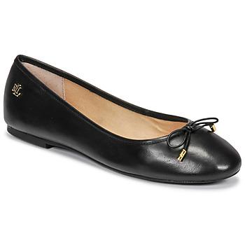 Čevlji  Ženske Balerinke Lauren Ralph Lauren JAYNA Črna