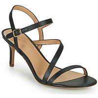 Čevlji  Ženske Sandali & Odprti čevlji Lauren Ralph Lauren LANDYN Črna