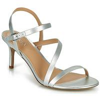 Čevlji  Ženske Sandali & Odprti čevlji Lauren Ralph Lauren LANDYN Srebrna