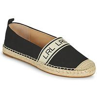 Čevlji  Ženske Espadrile Lauren Ralph Lauren CAYLEE Črna