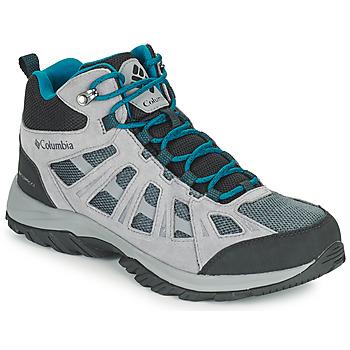 Čevlji  Moški Pohodništvo Columbia REDMOND III MID WATERPROOF Siva
