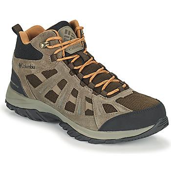 Čevlji  Moški Pohodništvo Columbia REDMOND III MID WATERPROOF Kostanjeva