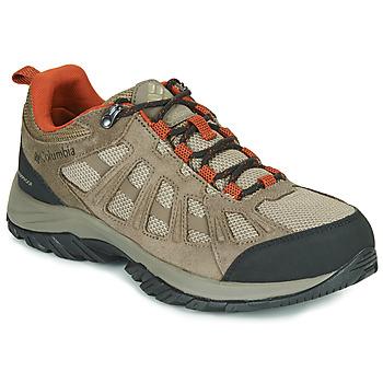 Čevlji  Moški Pohodništvo Columbia REDMOND III WATERPROOF Kostanjeva