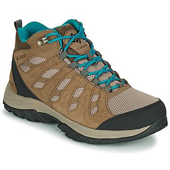 Čevlji  Ženske Pohodništvo Columbia REDMOND III MID WATERPROOF Bež