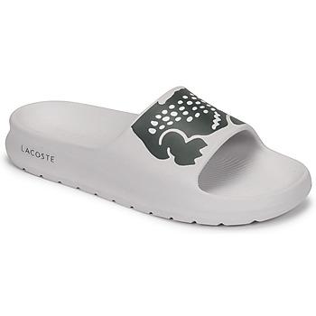 Čevlji  Ženske Natikači Lacoste CROCO 2.0 0721 1 CFA Bela / Črna