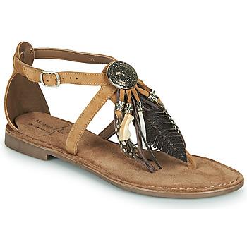 Čevlji  Ženske Sandali & Odprti čevlji Metamorf'Ose JALAP Bež