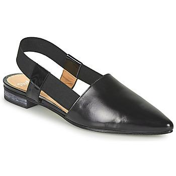 Čevlji  Ženske Sandali & Odprti čevlji Perlato 11003-JAMAICA-VERNIS-NOIR Črna