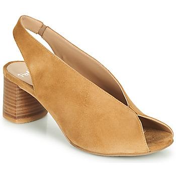 Čevlji  Ženske Sandali & Odprti čevlji Perlato 11803-CAM-CAMEL Kamel