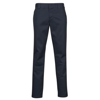 Oblačila Moški Hlače s 5 žepi Dickies SLIM FIT WORK PNT Modra