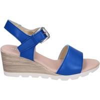 Čevlji  Ženske Sandali & Odprti čevlji Rizzoli Sandale BK597 Modra
