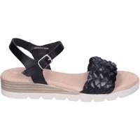 Čevlji  Ženske Sandali & Odprti čevlji Rizzoli Sandale BK604 Črna