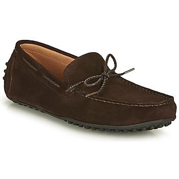 Čevlji  Moški Mokasini Brett & Sons CHATAINE Kostanjeva