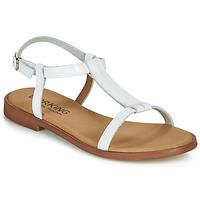 Čevlji  Ženske Sandali & Odprti čevlji Dorking LEYLA Bela