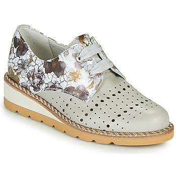 Čevlji  Ženske Čevlji Derby Dorking TETRIS Siva