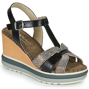 Čevlji  Ženske Sandali & Odprti čevlji Dorking TOTEM Črna / Bronze