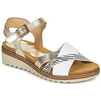 Čevlji  Ženske Sandali & Odprti čevlji Dorking ESPE Bela / Srebrna