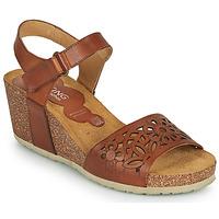 Čevlji  Ženske Sandali & Odprti čevlji Dorking PALMA Kostanjeva