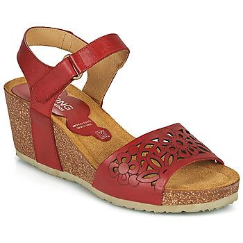 Čevlji  Ženske Sandali & Odprti čevlji Dorking PALMA Rdeča