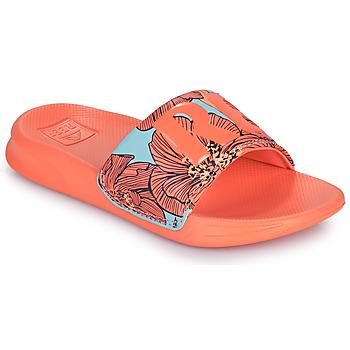 Čevlji  Deklice Natikači Reef KIDS ONE SLIDE Oranžna