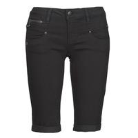 Oblačila Ženske Kratke hlače & Bermuda Freeman T.Porter BELIXA Črna