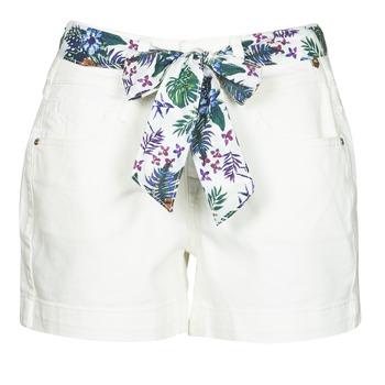 Oblačila Ženske Kratke hlače & Bermuda Freeman T.Porter GINGER MUZEY Snow / White