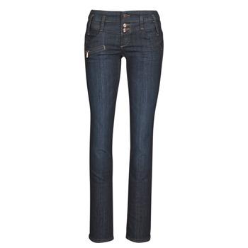 Oblačila Ženske Jeans straight Freeman T.Porter AMELIE SDM Modra