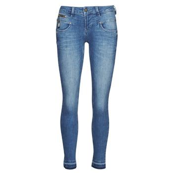 Oblačila Ženske Kavbojke slim Freeman T.Porter ALEXA CROPPED S-SDM Modra
