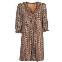 Oblačila Ženske Kratke obleke Freeman T.Porter JUNA SAMBA Oranžna